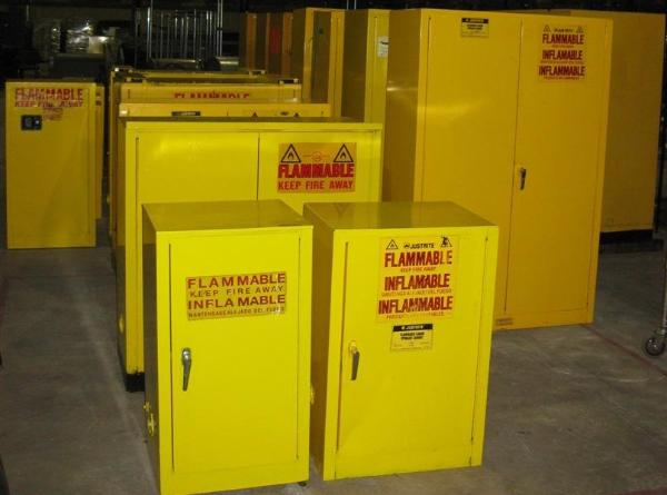 Used Flammable Storage Cabinets